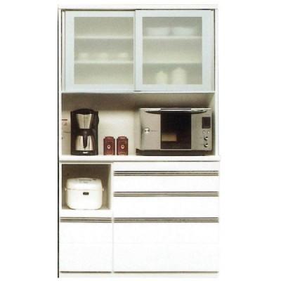 キッチンボード 120cm幅 レンジボード 国産 開梱設置