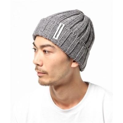 帽子 キャップ MANASTASH/マナスタッシュ 90's LOGO BEANIE/ニットキャップ (617)