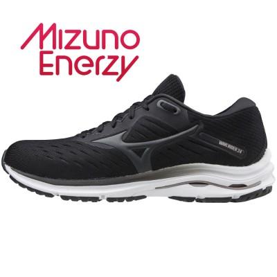 MIZUNOアウトドア ウェーブライダー WAVE RIDER 24 J1GD200303 ジョギングブラック×グレー