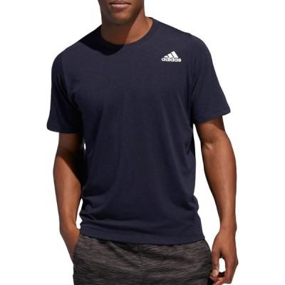 アディダス adidas メンズ ラクロス Tシャツ トップス FreeLift Sport T-Shirt Navy