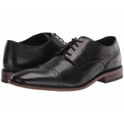 Bostonian ボストニアン メンズ 男性用 シューズ 靴 オックスフォード 紳士靴 通勤靴 Lamont Cap Black Leather【送料無料】