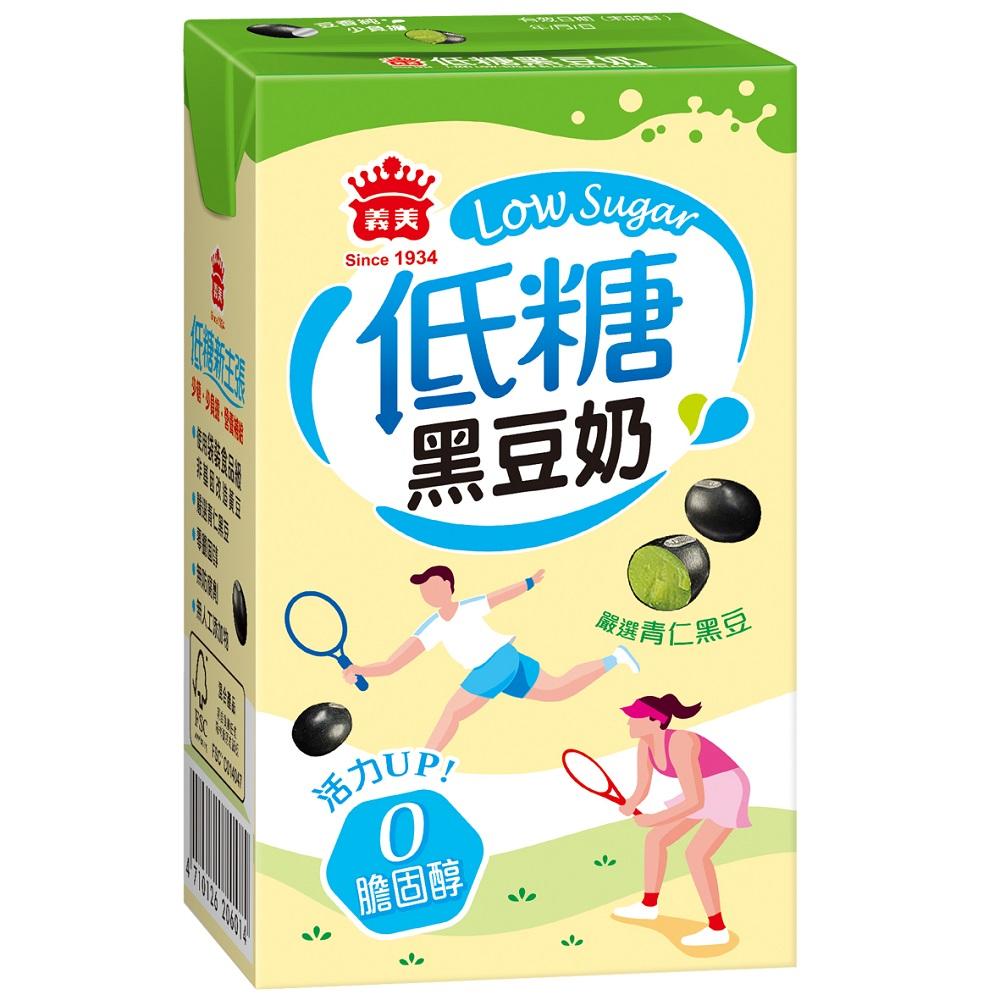 義美 低糖黑豆奶 250ml(24入/箱)