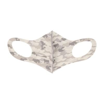 100周年記念 3Dマスク Sサイズ グレー・カモフラ S