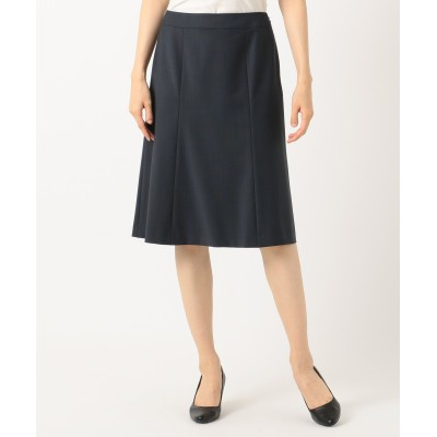 【オンワード】 J.PRESS LADIES S(ジェイ・プレス レディス 小さいサイズ) 【スーツ対応】BAHARIYE スカート ネイビー P3 レディース 【送料無料】