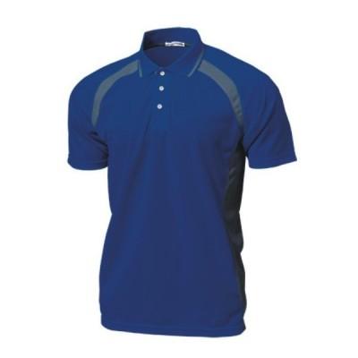 ベーシックテニスシャツ P1710-05 ロイヤルブルー ウンドウ wundou スポーツウエア