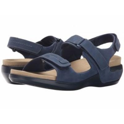 Aravon アラヴォン レディース 女性用 シューズ 靴 サンダル Katy Navy【送料無料】