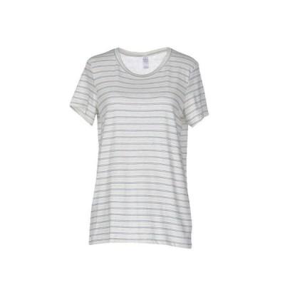 ALTERNATIVE Tシャツ  レディースファッション  トップス  Tシャツ、カットソー  半袖 アイボリー