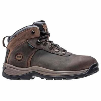 ティンバーランド メンズ ブーツ・レインブーツ シューズ Flume Waterproof Steel Toe Work Boots