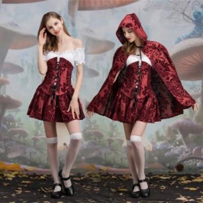 魔女 巫女 ハロウィン コスプレ 衣装 Halloween レディース コスチューム 大人 仮装 ハロウィーン 衣装仮装 ハロウィン衣装 パーティー