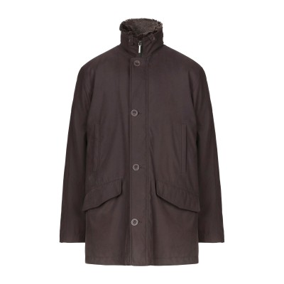 BLACKTHORN コート ダークブラウン 50 ポリエステル 85% / ナイロン 15% コート