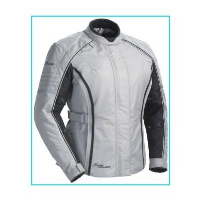 Tour Master Trinity 3.0 Women's Street Racing Motorcycle Textile Jacket - Silver, Large【並行輸入品】