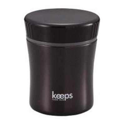 10%OFFクーポン対象商品 保温弁当箱 スープジャー フードマグ キープス 270ml ブラック ( お弁当箱 ランチジャー スープポット 保温 保冷 弁当箱 ランチボックス ランチポット フードポット ) クーポンコード:52RFBAW
