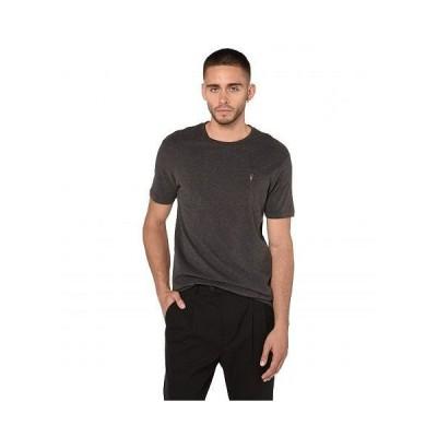 AllSaints メンズ 男性用 ファッション Tシャツ Brace Tonic Crew Tee - Charcoal Marl