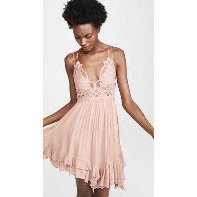 フリーピープル Free People レディース ワンピース スリップドレス ワンピース・ドレス Adella Slip Dress Rose