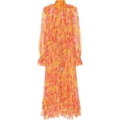 ジマーマン Zimmermann レディース ワンピース ミドル丈 ワンピース・ドレス Brightside paisley midi dress Golden Ikat