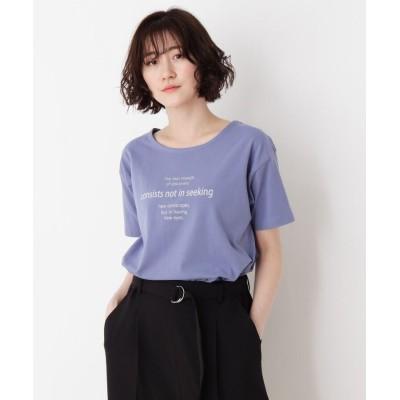 SHOO・LA・RUE/Mrs.(シューラルー/ミセス) オトナロゴTシャツ