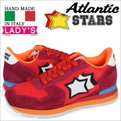 アトランティックスターズ Atlantic STARS ベガ スニーカー レディース VEGA レッド FRA-85C
