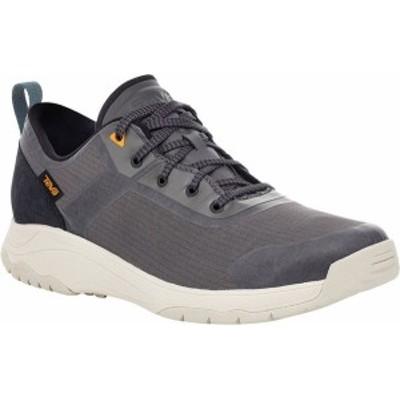 テバ メンズ スニーカー シューズ Gateway Low Hiking Sneaker Dark Gull Grey Recycled Polyester/Suede