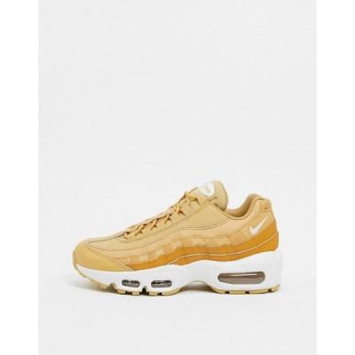 ナイキ Nike レディース スニーカー エアマックス 95 シューズ・靴 Air Max 95 trainers in beige