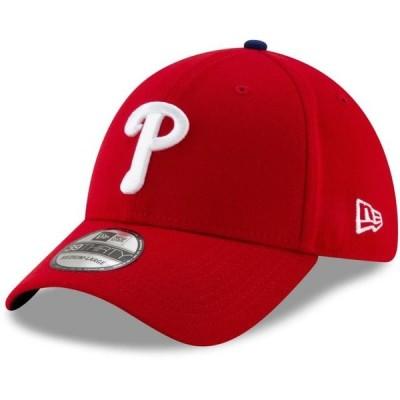 ユニセックス スポーツリーグ メジャーリーグ Philadelphia Phillies New Era Game Team Classic 39THIRTY Flex Hat - Red 帽子