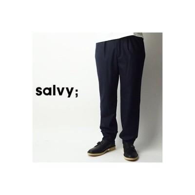サヴィー salvy; アジャスタブルタックパンツ ADJUSTABLE TUCKED PANTS SV06-76M18C 2018秋冬 2018AW