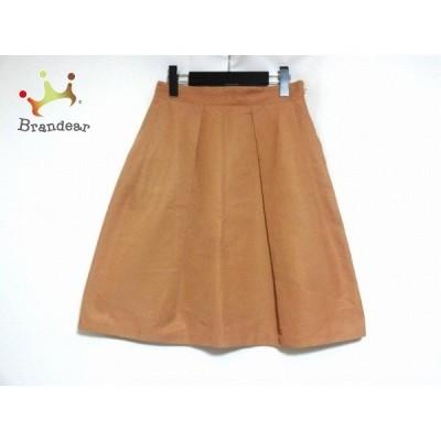 アマカ AMACA スカート サイズ38 M レディース ブラウン   スペシャル特価 20200717