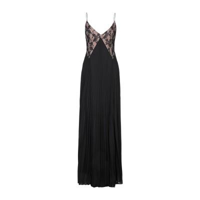 DIVEDIVINE ロングワンピース&ドレス ブラック 44 ポリエステル 100% ロングワンピース&ドレス