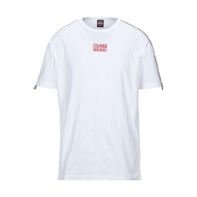 コルマー COLMAR T シャツ ホワイト L コットン 100% T シャツ