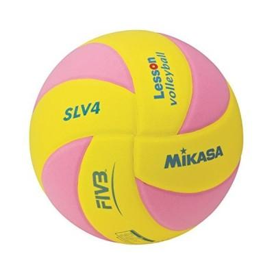 ミカサ(MIKASA) スマイルレッスンバレー4号 黄/ピンク SLV4-YP
