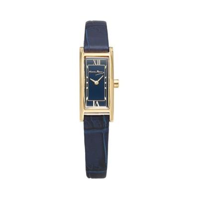 (CREPHA PLUS/クレファープラス)Maurice Renoma モーリス・レノマ レディース アナログ 腕時計【MR-1501-GRAY】/ユニセックス ネイビー