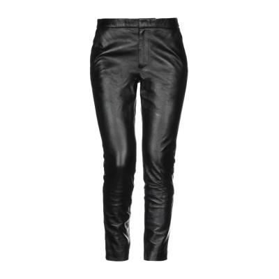 レッド ヴァレンティノ REDValentino パンツ ブラック 44 羊革(ラムスキン) パンツ