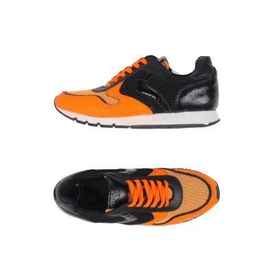 VOILE BLANCHE スニーカー&テニスシューズ(ローカット) オレンジ 37 紡績繊維 スニーカー&テニスシューズ(ローカット)