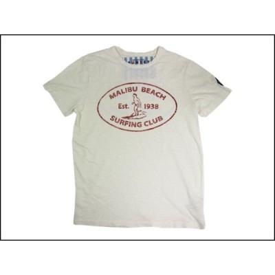 SUNSET SURF/サンセットサーフ S/S Tシャツ「マリブ サーフ」ダーティーホワイト by ジョンソンモータース