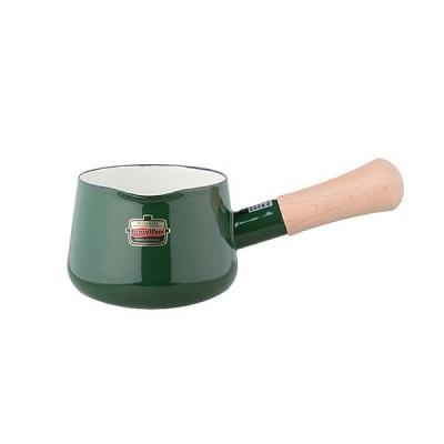 ソリッド ホーローミルクパン 12cm SD-12M・G グリーン