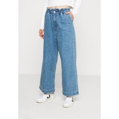 モンキ デニムパンツ レディース ボトムス LIZETTE TROUSER - Relaxed fit jeans - blue medium