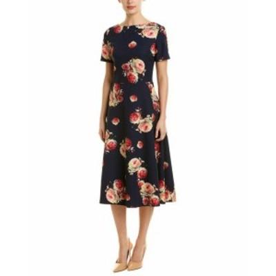 ファッション ドレス Sash A-Line Midi Dress 6