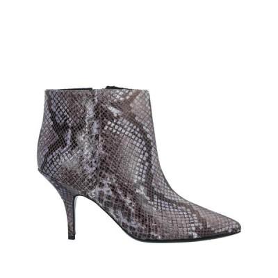PATRIZIA PEPE ショートブーツ  レディースファッション  レディースシューズ  ブーツ  その他ブーツ グレー