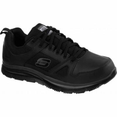 スケッチャーズ Skechers メンズ シューズ・靴 Work Relaxed Fit Flex Advantage SR Black
