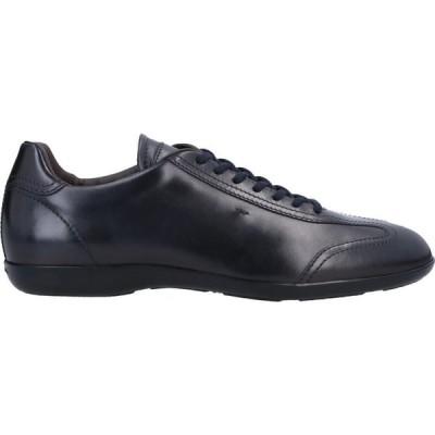 サントーニ SANTONI メンズ シューズ・靴 laced shoes Dark blue
