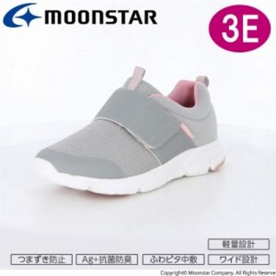 ≪セール≫ムーンスター レディース スニーカー 靴 ADL 04 グレイ 軽量