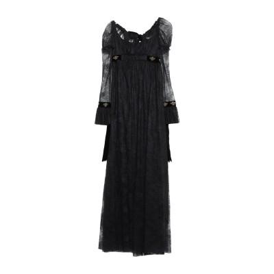 フィロソフィ ディ ロレンツォ セラフィニ PHILOSOPHY di LORENZO SERAFINI ロングワンピース&ドレス ブラック 38