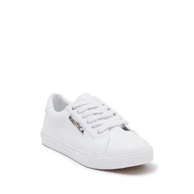 ナウティカ レディース スニーカー シューズ Nal-Arent Sneaker WHITE