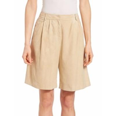 ラファイエット148ニューヨーク レディース パンツ Suede Clarkson Shorts