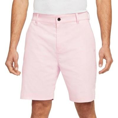 ナイキ カジュアルパンツ ボトムス メンズ Nike Men's Dri-FIT UV Chino Golf Shorts PinkFoam