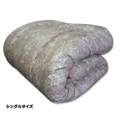 掛け布団 シングル 羊毛 増量タイプ 羊毛混掛け布団 日本製 ウール 羊毛布団  防ダニ