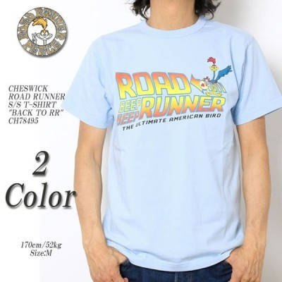 """CHESWICK(チェスウィック) ロードランナー 半袖Tシャツ """"BACK TO RR"""" CH78495"""