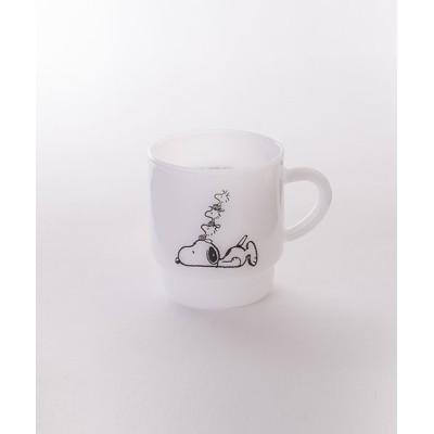 SPECIAL PRODUCT DESIGN / 【MILKWARE】STACKING MUG SNOOPY 3 WOMEN 食器/キッチン > グラス/マグカップ/タンブラー