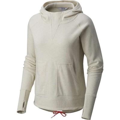 マウンテンハードウェア Mountain Hardwear レディース パーカー トップス firetower long sleeve hoodie Stone