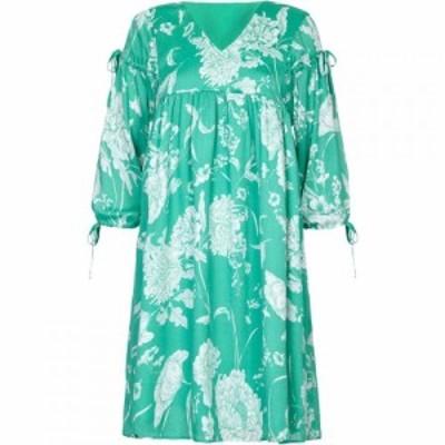 ユミ Yumi レディース ワンピース チュニックドレス ワンピース・ドレス Floral Print Tassel Tunic Dress Green