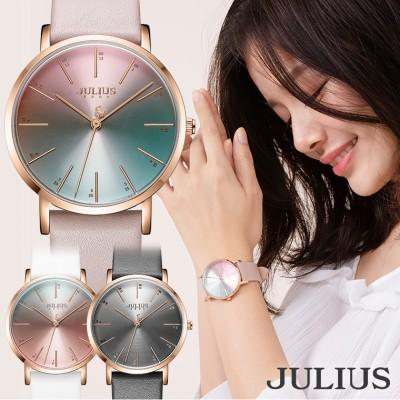 腕時計 レディース ブランド 防水 レディース腕時計 おしゃれ グラデーション 人気 20代 30代 40代 JULIUS プレゼント ホワイト ピンク グレー